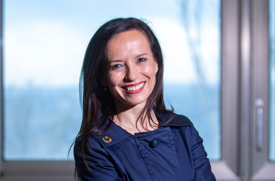 Beatriz Corredor, presidenta del Grupo Red Eléctrica.