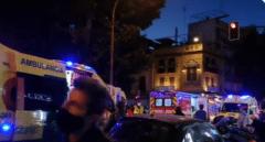 Seis heridos tras caer una gran rama del ficus centenario de Sevilla