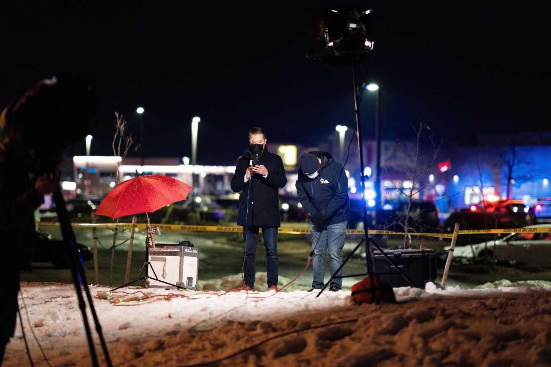 Escena después de tiroteo en Colorado