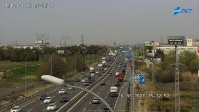 Retenciones en carreteras de Barcelona, Madrid, Valencia, Murcia y Málaga a pesar del cierre perimetral