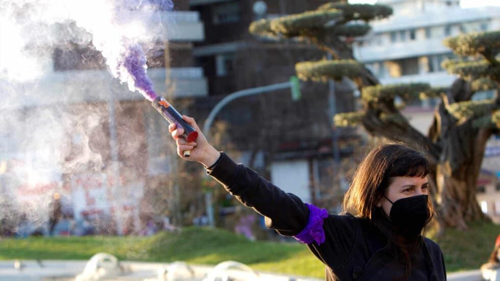 Celebraciones por el 8-M en Vigo