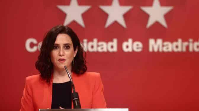 """Díaz Ayuso: """"España me debe una, he sacado a Pablo Iglesias de Moncloa"""""""