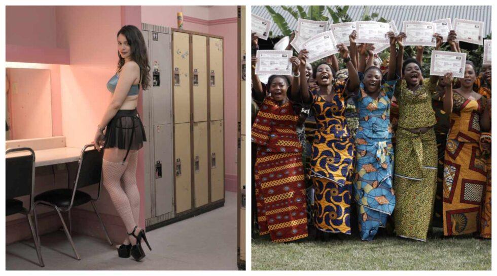 Fotogramas del documental Woman