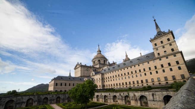 Jardines del Real Monasterio de San Lorenzo de El Escorial (Madrid).
