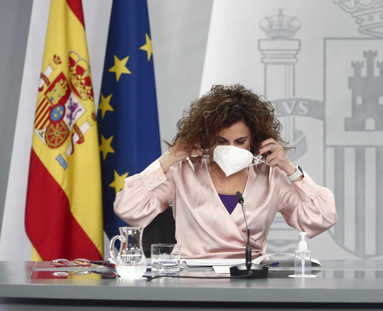 La portavoz del Gobierno Maria Jesús Montero
