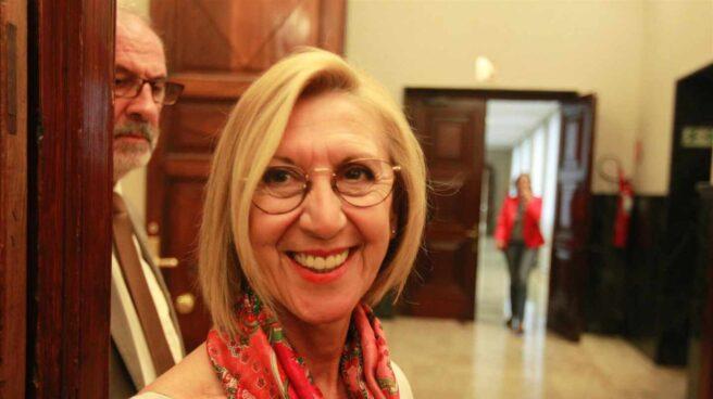 La fundadora de UPyD, Rosa Díez.