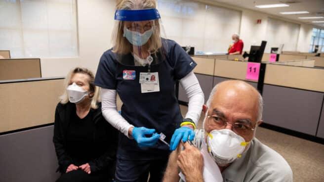 Campaña de vacunación en California.