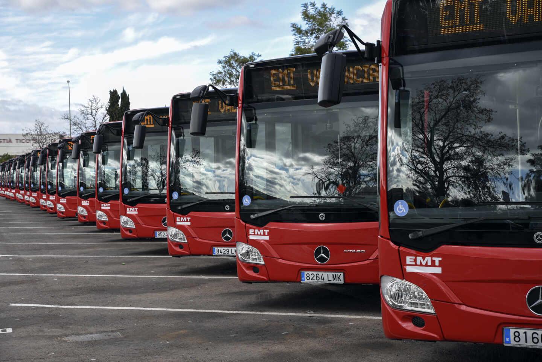 Autobuses de la EMT de Valencia