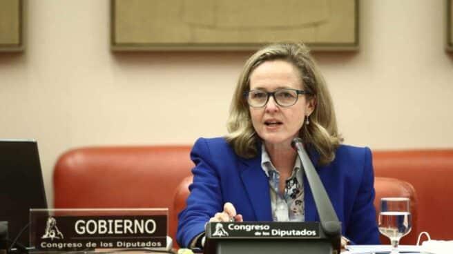 La Vicepresidenta Tercera del Gobierno y Ministra de Asuntos Económicos, Nadia Calviño.