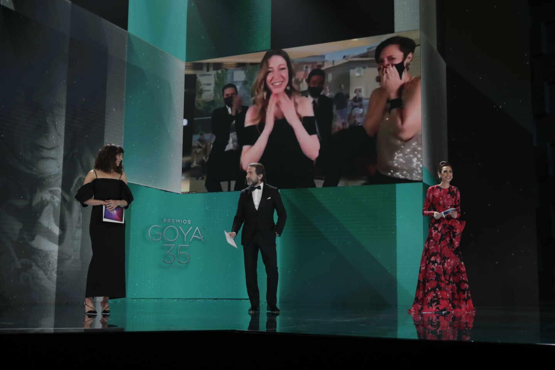 Pilar Palomero, Mejor dirección novel por 'Las niñas' en los Premios Goya 2021.