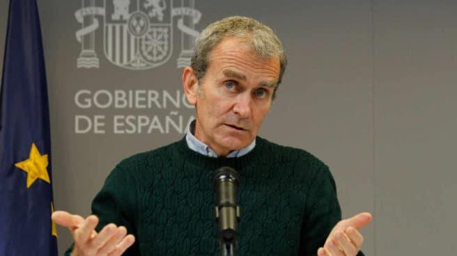 El director del Centro de Coordinación de Alertas y Emergencias Sanitarias (CCAES), Fernando Simón