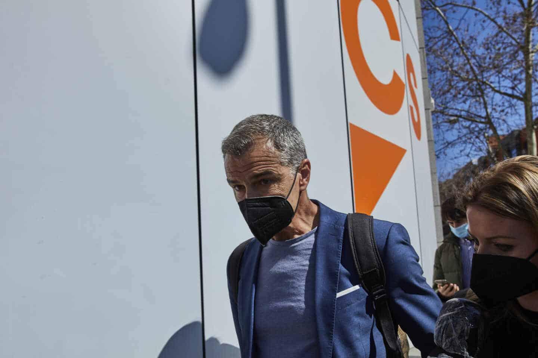 El hasta ahora portavoz de Ciudadanos en las Cortes Valencianas y coordinador autonómico del partido, Toni Cantó.