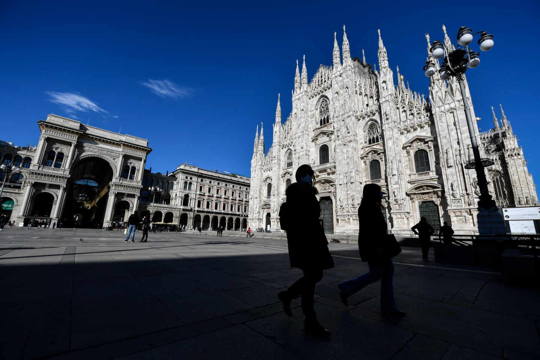 El Duomo de Milan.