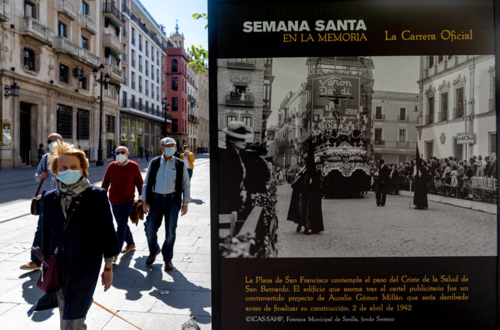 Exposición fotográfica de Semana Santa en Sevilla