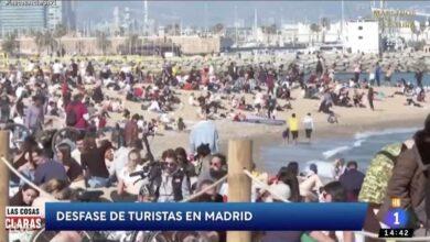 Ayuso critica a Cintora por las imágenes de la playa que emplea TVE para hablar de Madrid