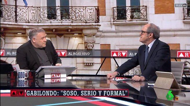 Antonio García Ferreras entrevista a Ángel Gabilondo.