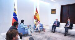 La número 2 de Exteriores se reúne con Delcy Rodríguez en plena polémica por Plus Ultra