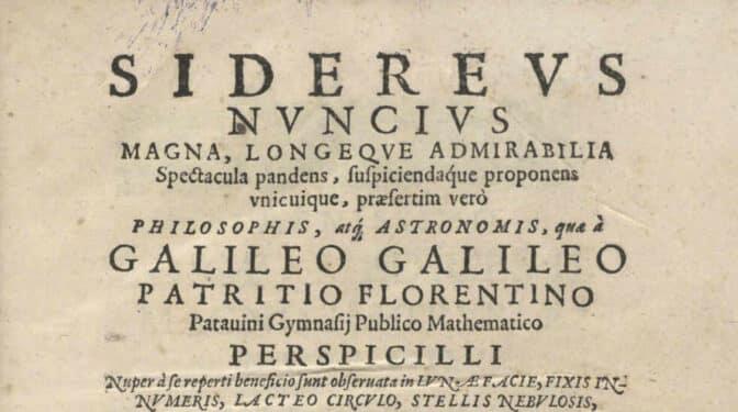 Un conocido ladrón dice que vendió el libro de Galileo robado en la Biblioteca Nacional