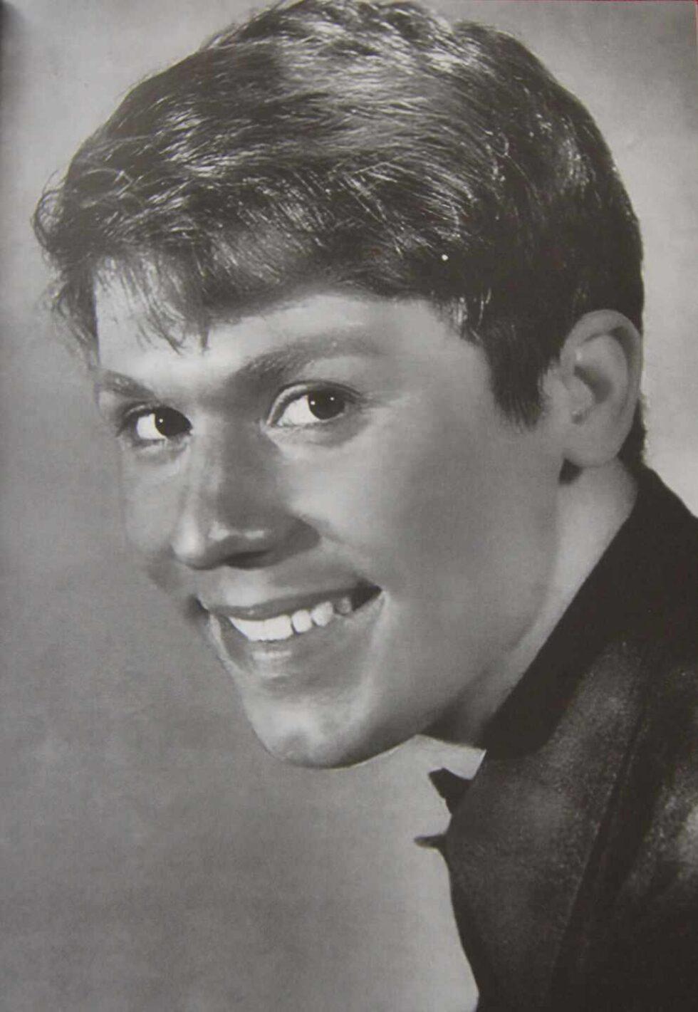 Raphael, en una imagen durante su adolescencia