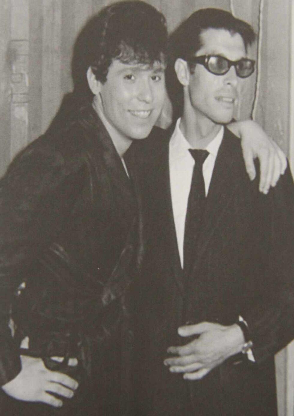 Con Paco Gordillo, la primera persona que creyó en él