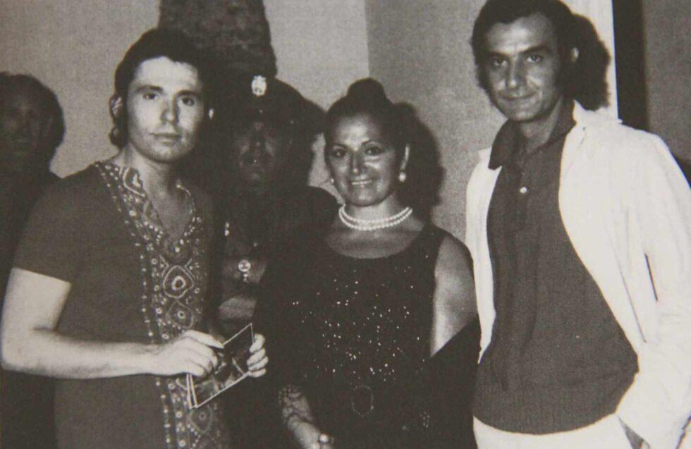 Con Juana Reina y Caracolillo