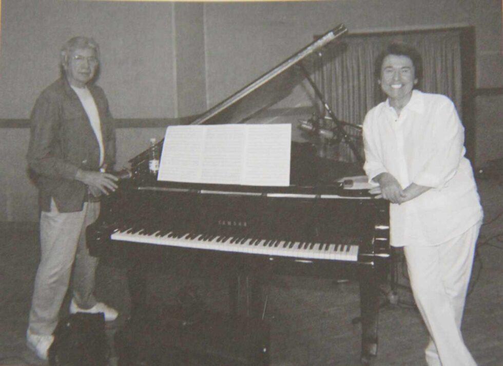 Con el compositor jerezano Manuel Alejandre