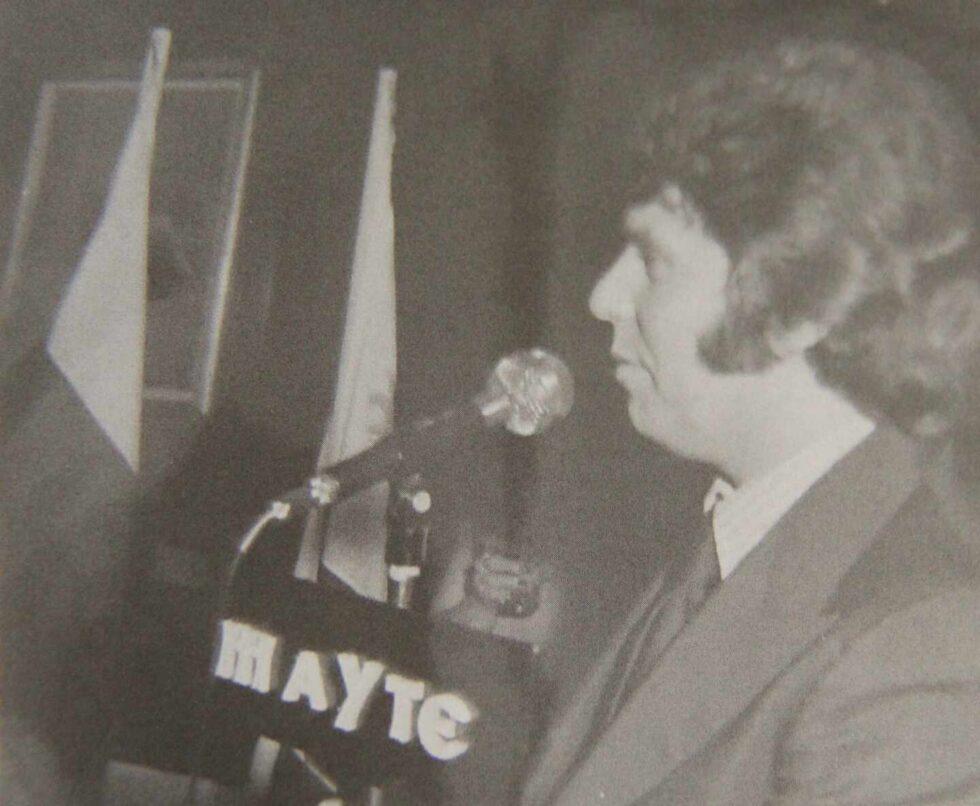 Homenaje brindado por raphaelistas en Madrid en 1978