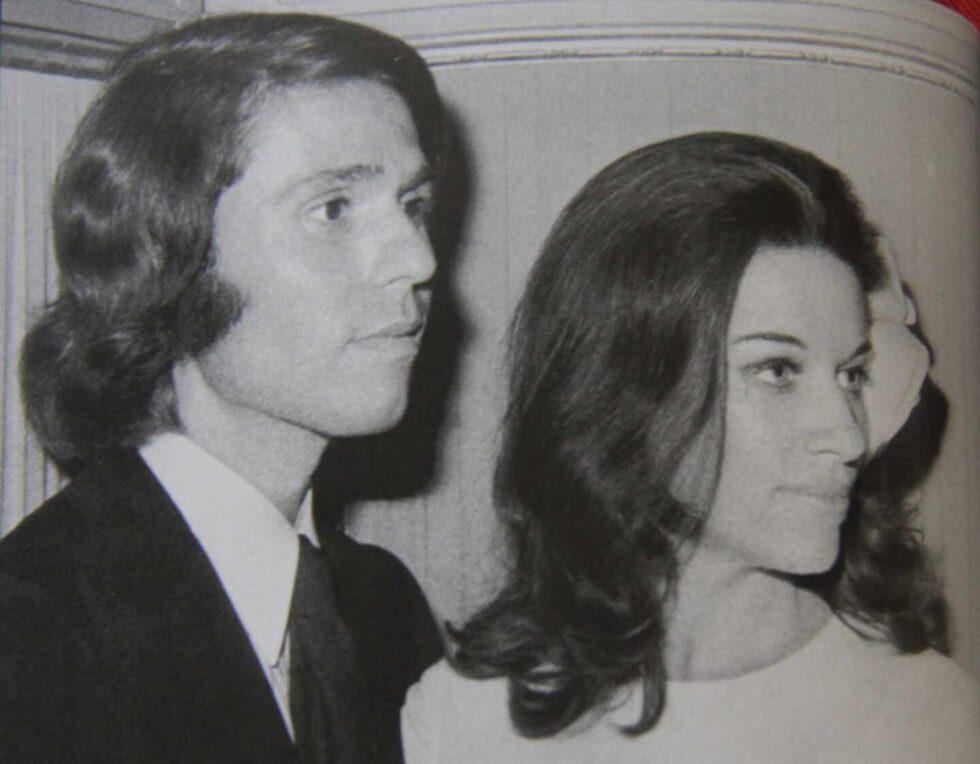 Con Natalia Figueroa, su esposa