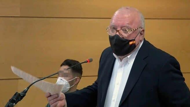 Villarejo, declarando en el juicio por la querella que le interpuso Sanz Roldán.