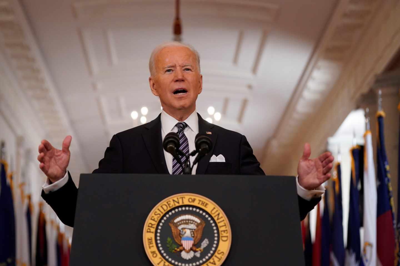 Joe Biden se dirige a la nación en el primer aniversario de la declaración oficial de pandemia