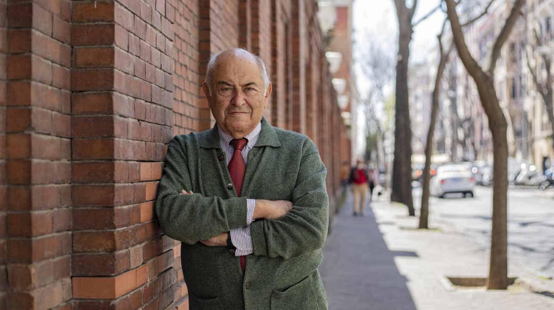 El filósofo español José Antonio Marina posa para El Independiente