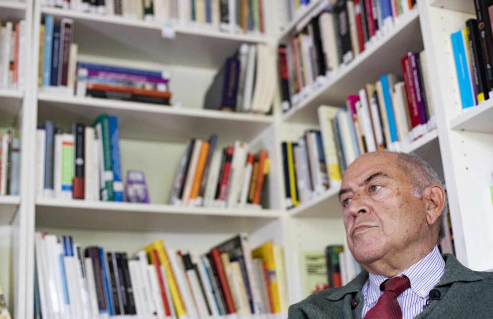 El filósofo español José Antonio Marina, durante una entrevista con El Independiente