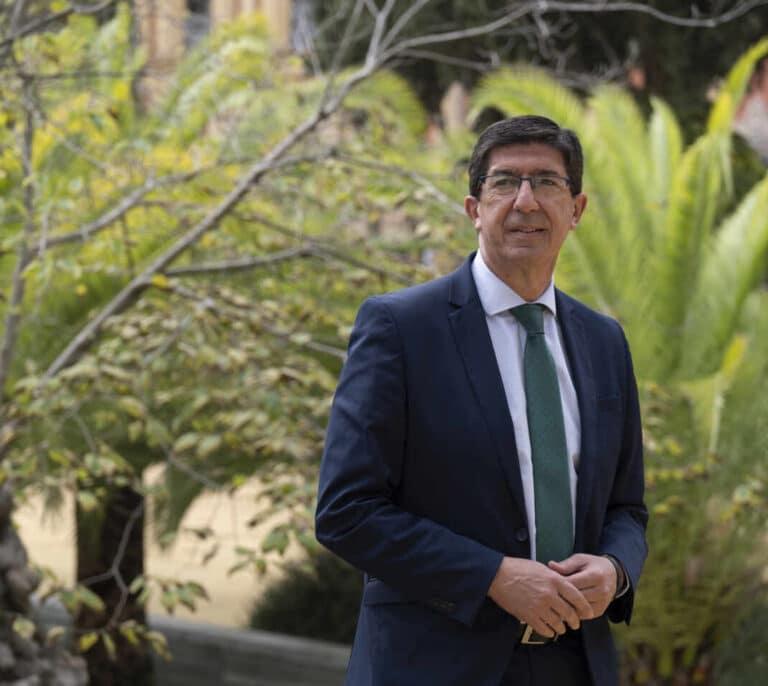 """Juan Marín (Cs): """"Con estabilidad, convocar elecciones sería una verdadera locura"""""""