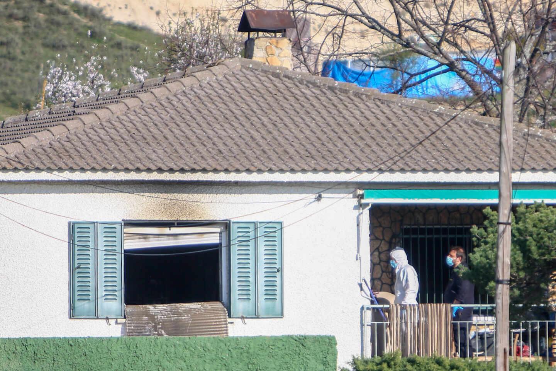 Casa donde ha sucedido el crimen de El Molar