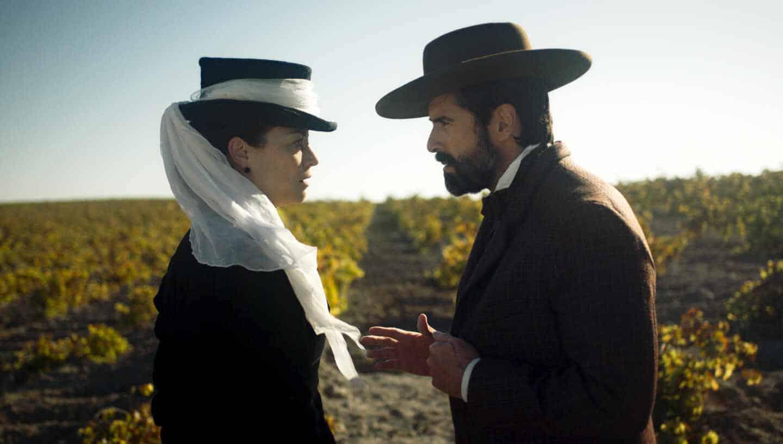 Leonor Watling y Rafael Novoa en 'La Templanza'