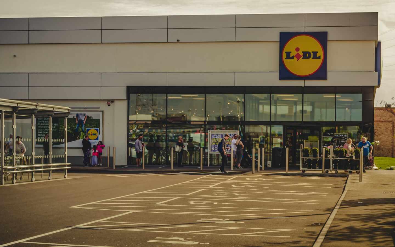 Un supermercado de la cadena Lidl