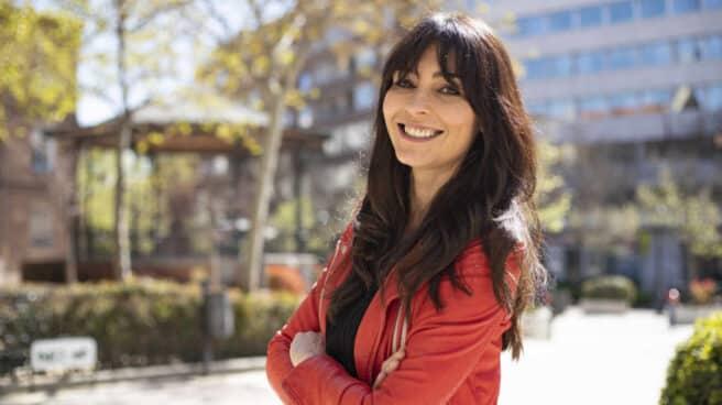 La periodista y escritora Marta Fernández durante la entrevista con El Independiente