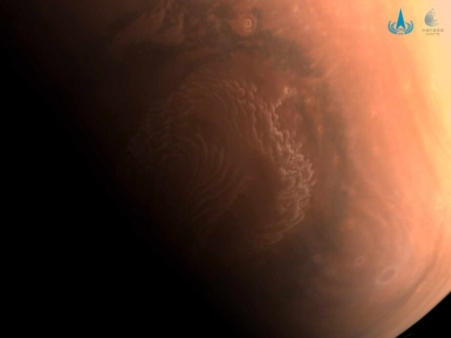 El Polo Norte de Marte