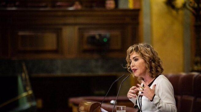Marta Martín, en el Congreso.