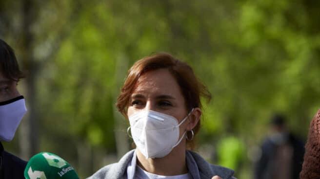 La candidata a la presidencia de la Comunidad de Madrid por Más País, Mónica García.