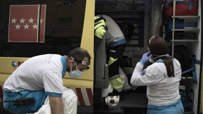 Una ambulancia del SUMMA