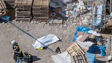 Mueren dos obreros tras caer desde un andamio en un séptimo piso