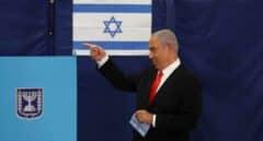 El Likud de Netanyahu encabeza los sondeos en las elecciones en Israel