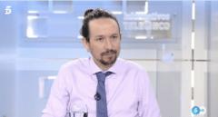 "Iglesias replica a Gabilondo que a la derecha ""le interesa que estemos con pullas"""