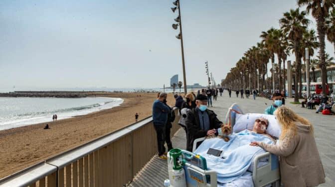 De la UCI al paseo marítimo de Barcelona