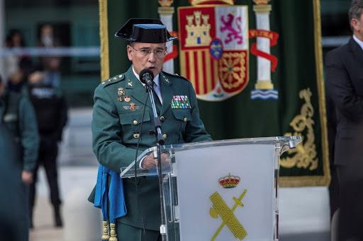 El coronel de la Guardia Civil Diego Pérez de los Cobos.