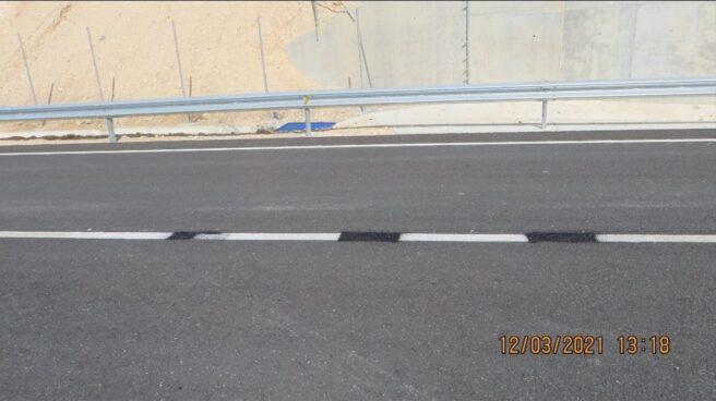 Un tramo de una carretera