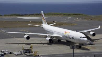 """Plus Ultra defiende la ayuda del Gobierno: """"Sin nuestros vuelos habría monopolio de Iberia y Air Europa"""""""