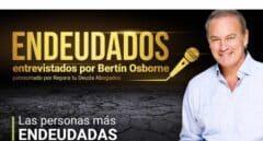 Bertín Osborne entrevistará a las personas más endeudadas de España en 'Endeudados'