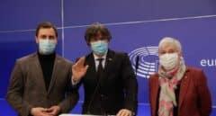 Puigdemont celebra como una victoria el rechazo al suplicatorio de 248 eurodiputados